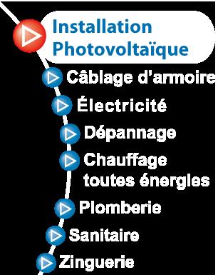 Jean Paul CHACUN à La Roche sur Yon (Vendée) - Photovoltaique, électroménager, dépannage, toutes énergies, câblage, armoire, installation, chauffage, plomberie, sanitaire,...